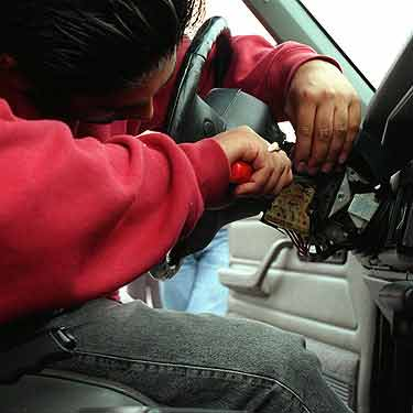 auto theft this page discusses how to better be aware of auto rh communityfears com hotwiring cars and picking locks pdf hot wiring cars today